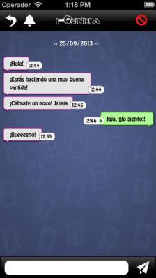 Cartados chat