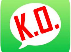 iMessage no envía mensajes