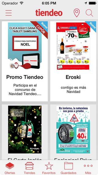 catálogos de ofertas de TIENDEO