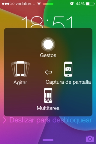 assistive touch en iPhone y dispositivos iOS
