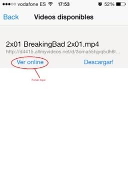Series y películas online en iPad, iPhone y iPod TOUCH