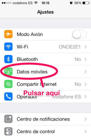 cuantos datos consume cada app en iPhone