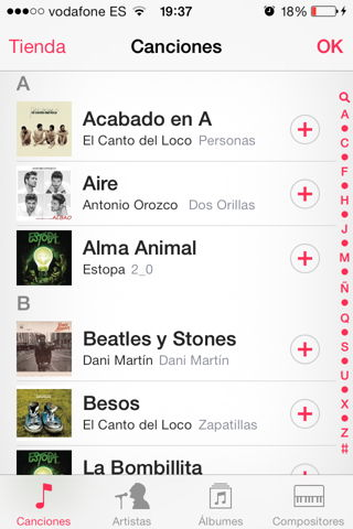 listas de reproducción iphone, ipad