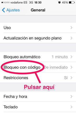 hacer más seguro el iPhone y iPad