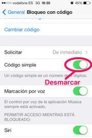 Hacer más seguro el iPhone, iPad y iPod Touch