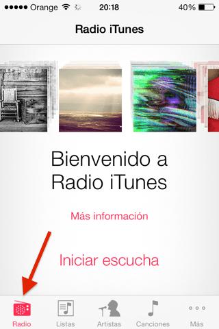 Probamos iTunes radio en España