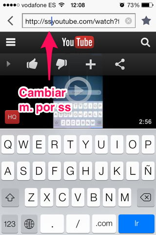 descargar vídeos de youtube iPad