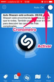 Usar la opción Auto Shazam en iPhone, iPad y iPod Touch - APPerlas