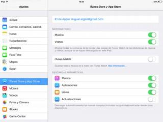descargas automáticas en iOS