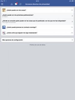 publicaciones privacidad en facebook