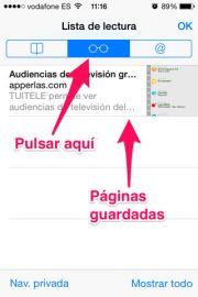 Listas de lectura en iPhone, iPad y iPod Touch - APPerlas