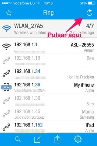 conectado al wifi