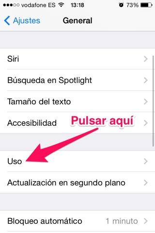 Eliminar una app 2