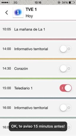 Guía de TV para España