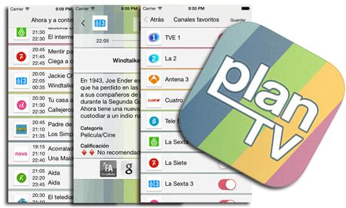 Una gran app GUÍA de TV