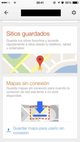 Google Maps 3 y mapas offline