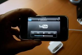vídeos de youtube en iPhone