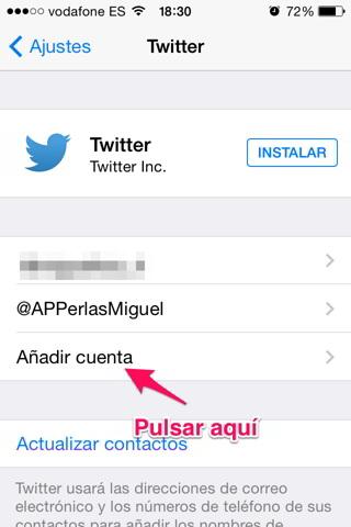 Publicar un tweet 2