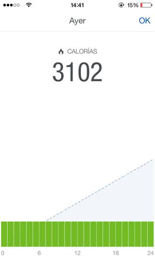 app de actividad física para iPhone