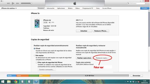 Instalar iOS 8 3
