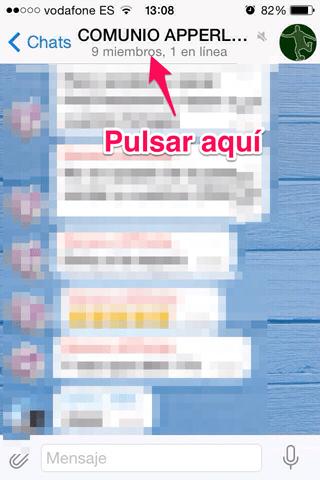 grupo de Telegram 1