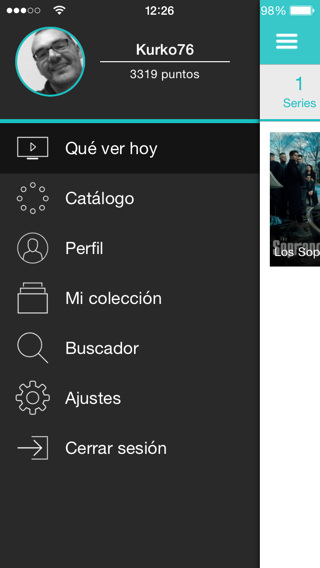 Películas y series ONLINE en iPhone