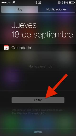 Widgets iOS 8 5