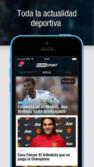 App Eurosport 5.0