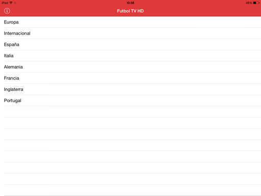 Fútbol gratis en iPad y iPhone