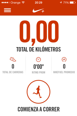 Nike+ Running para iPhone