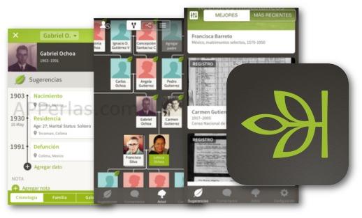 Tu árbol genealógico con la app Ancestry