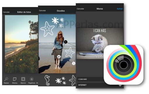 APP Aviary editor fotográfico para iPhone y iPad