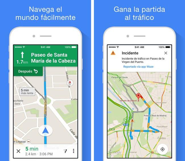 App Mapas de google 4.4