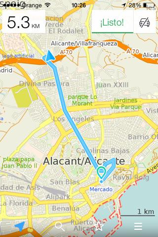 Maps.me PRO versión 4