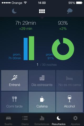 Aplicación para analizar el sueño