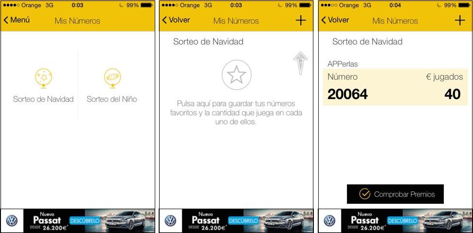 El Mundo Loterías app para comprobar décimos de lotería de navidad