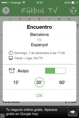 Fútbol TV 2.0 para iOS