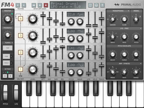 FM4 sintetizador