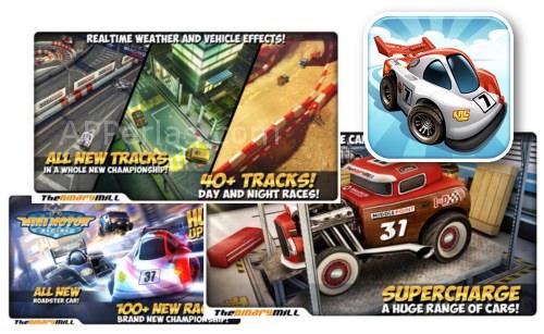Mini Motor Racing app de carreras de coches