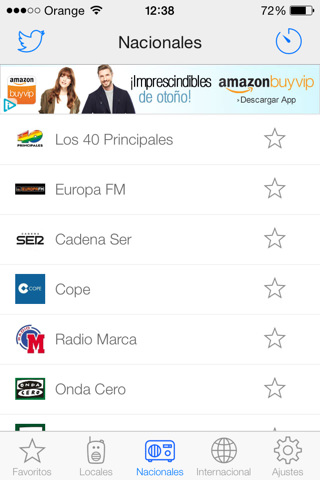 Radios FM España para iPhone