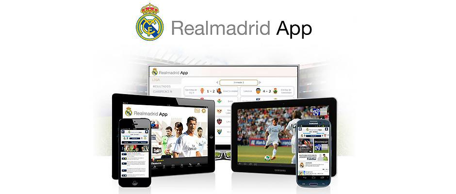 Realmadrid app con Real Madrid TV GRATIS