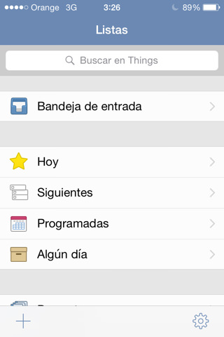 Gestor de tareas para iPhone y iPad