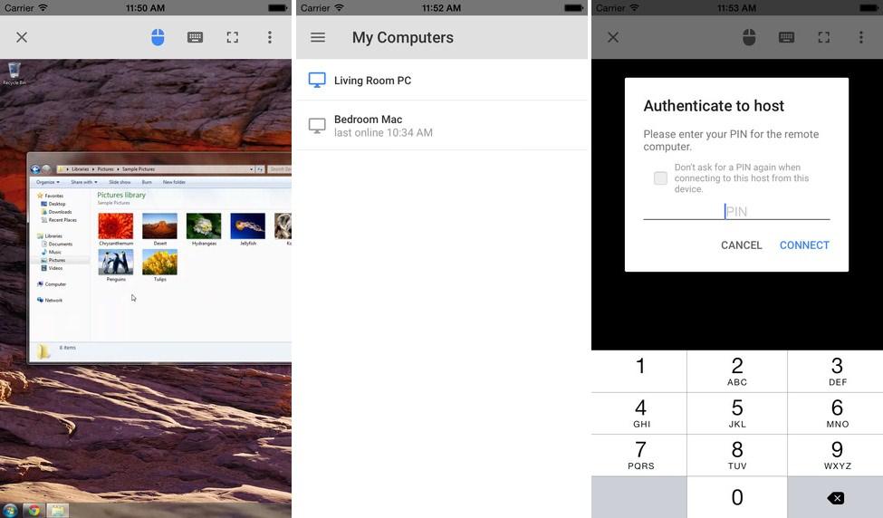 APP Chrome Remote Desktop