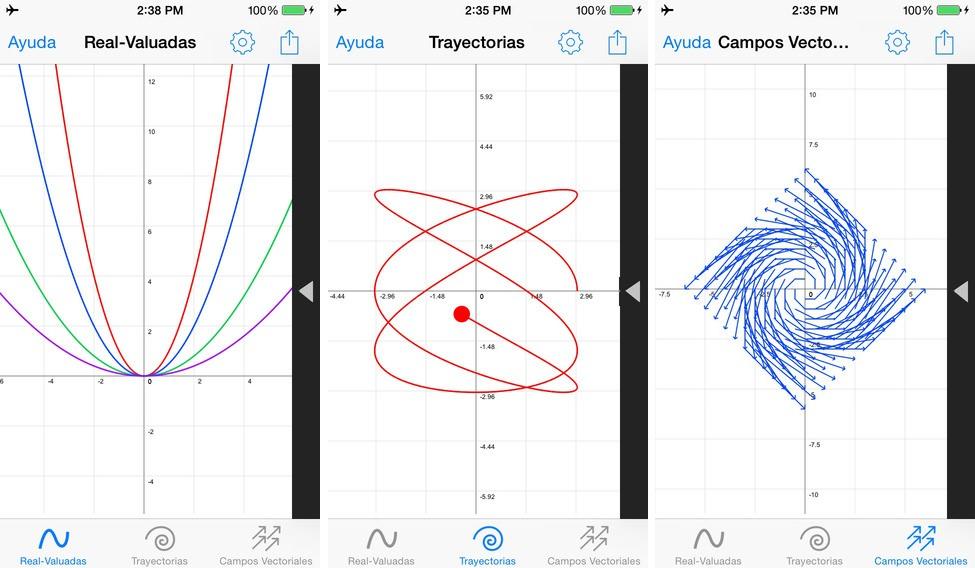 App para profesionales y estudiantes de matemáticas