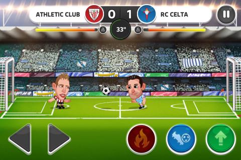Juego de fútbol para iPhone y iPad