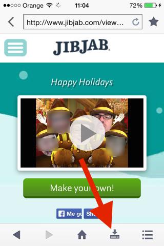 guardar los vídeos de JIBJAB 6