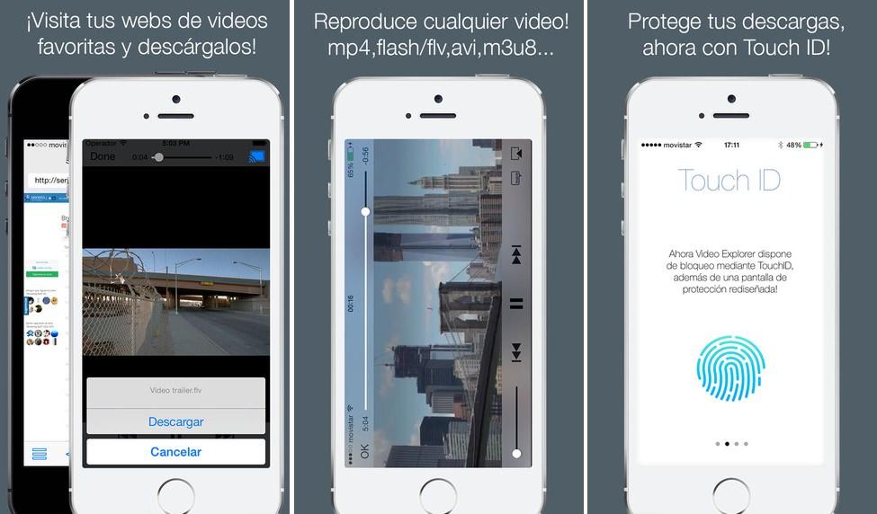 Video Explorer capturas