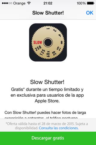 Slow Shutter Gratis iOS