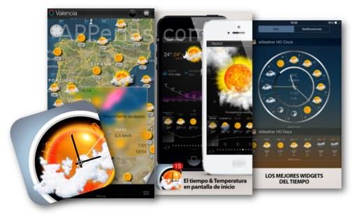 APP del tiempo para iOS eWeather HD