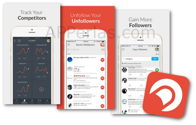 Crowdfire app para aumentar seguidores en twitter y instagram